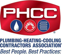 Plumbing, Heating, and Cooling Contractors Association logo